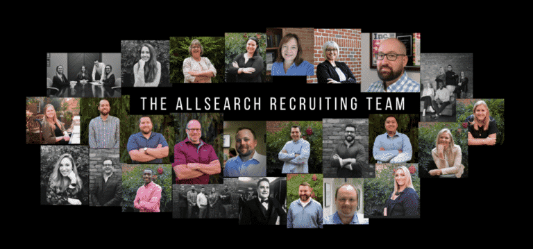 AllSearch Industrial Sales Recruiting Meet the Team Collage September 2020